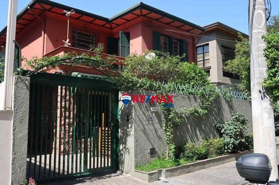 Locação Casa Com 3 Dormitórios, 4 Vagas De Garagem - Perdizes, Próximo Avenida Sumaré - Ca2011