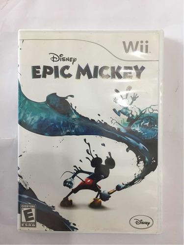 Epic Mickey Nintendo Wii