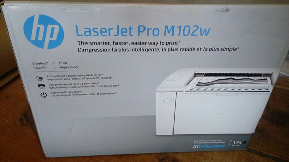 Impressora Hp Pro Laserjet P102w Wireless - Laser 102 Wifi