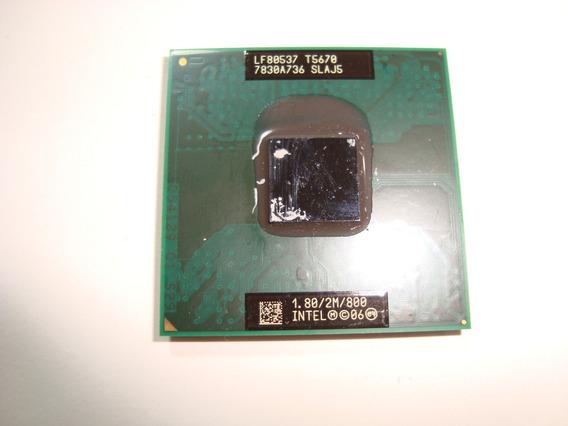 Processador Core 2 Duo T5670 1.80 2mb 800 Slaj5 Mpga 478mr