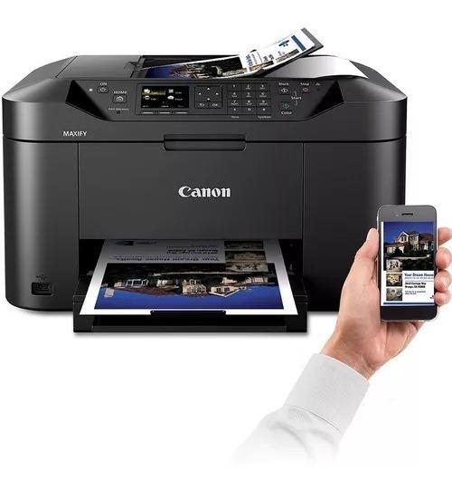 Impressora Canon Mb2110 Com Bulk De 2.250ml De Tinta