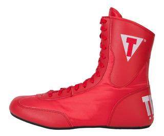 Title Lo Top Zapatos Botines Box Rojos