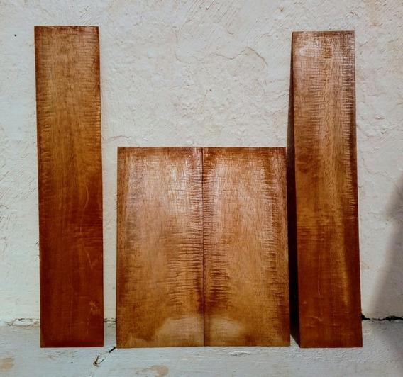 Set Madeira Mogno Luthier Cavaquinho Ukulele Banjo