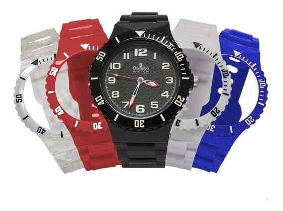 Relógio Feminino Champion Troca Pulseiras Cp38086x/22596