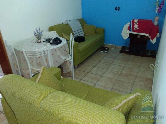 Kitnet Com 1 Dorm, Canto Do Forte, Praia Grande - R$ 135 Mil, Cod: 5211 - V5211