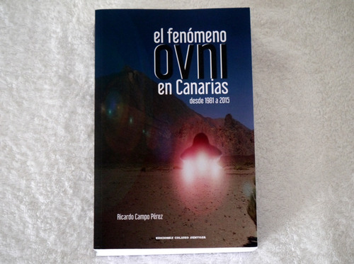 Imagen 1 de 4 de Libro De Ovnis   El Fenómeno Ovni En Canarias