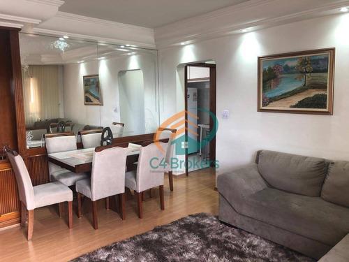 Imagem 1 de 27 de Apartamento Com 3 Dormitórios À Venda, 85 M² Por R$ 425.000,00 - Centro - Guarulhos/sp - Ap1315