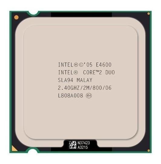 Processador Intel Core 2 Duo E4600 2.40ghz Lga 775 Fsb 800