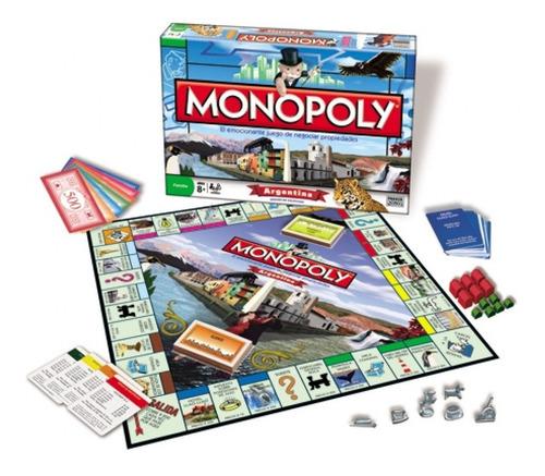 Monopoly Argentina Juego De Mesa Hasbro 830