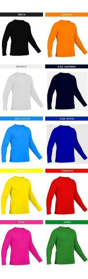 4 Camiseta Feminina Segunda Pele Com Proteção Solar Uv 50+ .