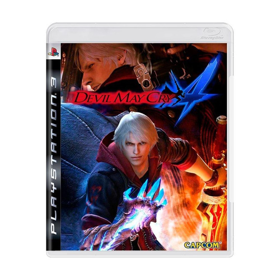 Devil May Cry 4 Ps3 Mídia Física Pronta Entrega