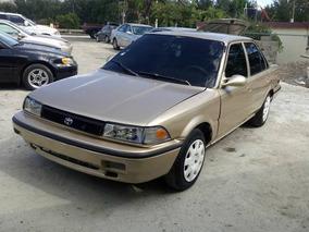 Toyota Corolla 91 Dorado Mecanico 135mil Neg O Fiao 75mil