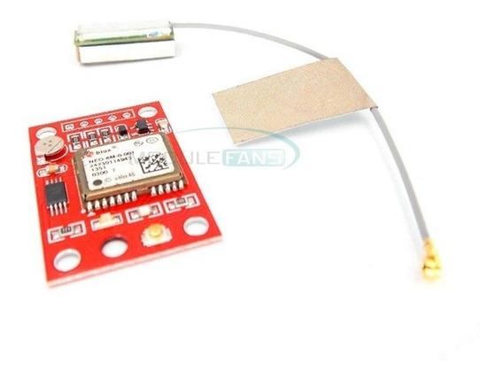 Módulo Gps Gy-neo6mv2 Neo-6m Apm2 Arduíno Drone R$ Frete 10