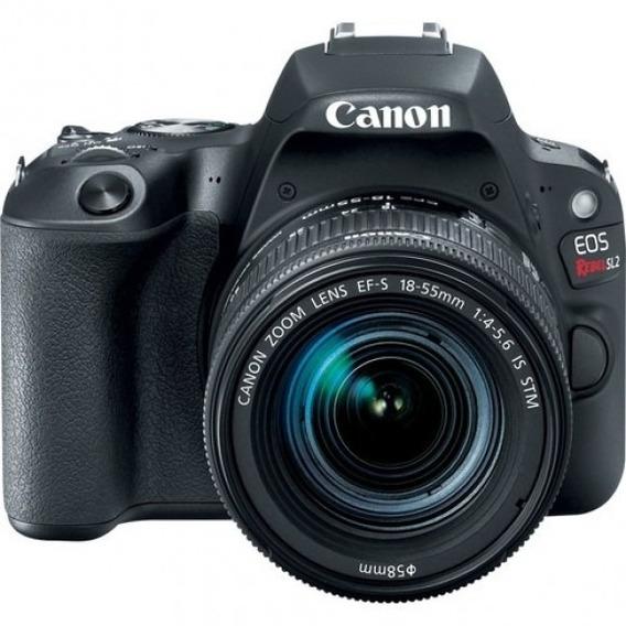 Camera Canon Eos Rebel Sl2 + Lente 18-55 - Original Nova