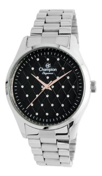 Relógio Feminino Champion Analógico Cn24039t - Prata