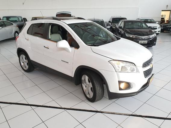 Gm Chevrolet Tracker Ltz 2014 Branca Teto Top Couro 79000km