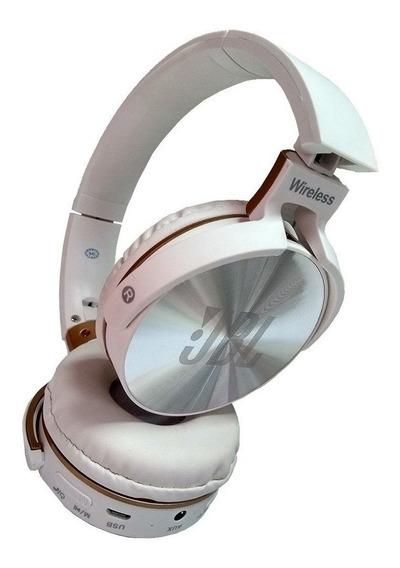 Fone De Ouvido Bluetooth Jb950 Sem Fio Cartão Sd Rádio Fm