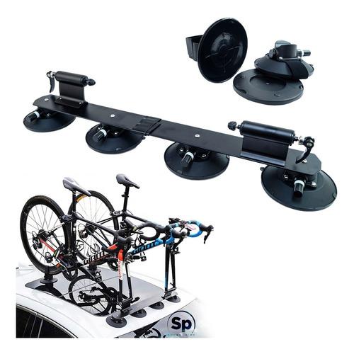 Rack Portabicicletas De Ventosas Succión Para 2 Bicicletas