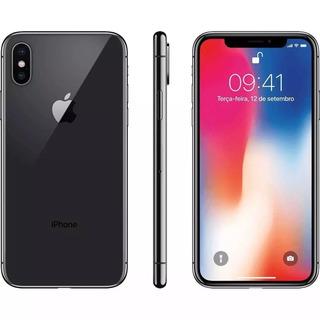 iPhone X 128gb Cinza Anatel, Garantia De 1 Ano, Nf Lacrado