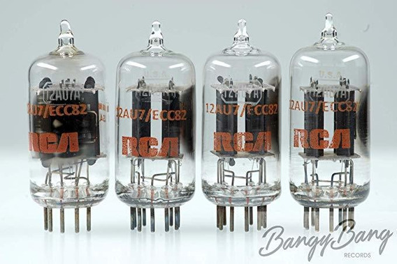 Amplificador Vintage Matched Quad Rca 12au7 A Ecc82 5814 ®