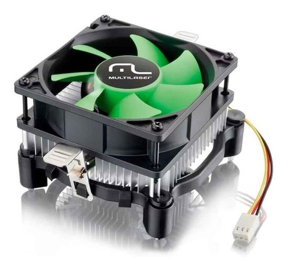 Cooler P/ Processador Universal Amd E Intel Ga120 Multilaser