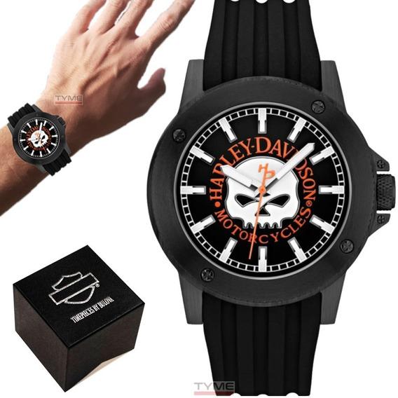 Relógio Bulova Harley Davidson Masculino Wh30466p / 78a115
