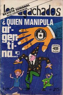 Los Agachados No. 215 - Año 7 - Ago - 1975 - Ed. Posada