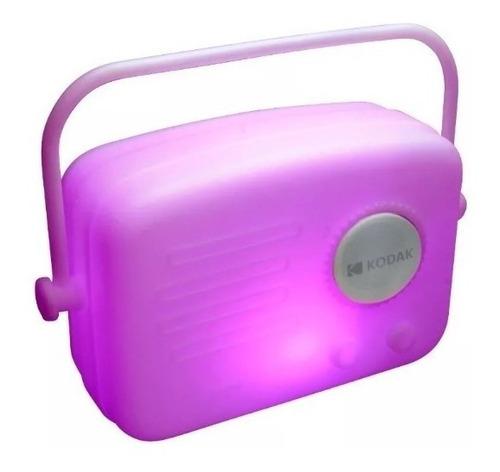Parlante Portatil Kodak Bluetooth 2105 Led Radio Con Control