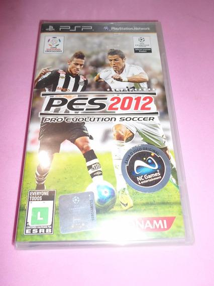 Pes 2012 Pro Evolution Soccer Novo Lacrado Psp Midia Fisica