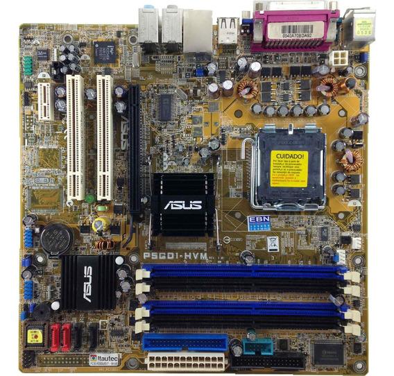 Placa Mãe Lga 775 Asus 4x Ddr P/ Celeron D E Pentium 4
