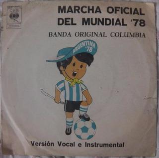 Marcha Del Mundial 78 Disco Simple Original