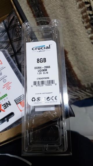 Ram Ddr4 Crucial 8gb 2666mhz