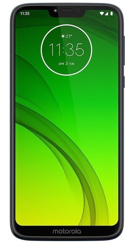 Celular Smartphone Motorola Moto G7 Power Xt1955 64gb Azul - Dual Chip