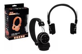 Fone De Ouvido Bluetooth Fm (sem Fio) B05 Headfone