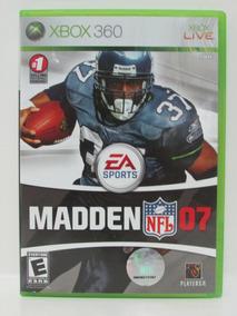 Madden Nfl 07 Game Xbox 360 Original E Completo