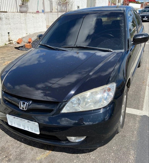 Honda Civic Lxl 1.7 - 16v - 2006 - Gasolina - Revisado