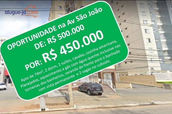 Apartamento Com 2 Dormitórios À Venda, 74 M² Por R$ 450.000,00 - Jardim Esplanada - São José Dos Campos/sp - Ap9273