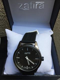 Reloj Zafira Mujer Unisex Malla Silicona Modelo