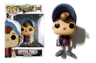 Muñeco Dipper Pines Gravity Falls Funko Pop! Animation #240