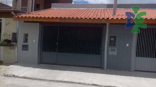 Casa Com 2 Dormitórios À Venda Por R$ 230.000,00 - Jardim Emília - Jacareí/sp - Ca0018