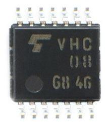 Vhc08 Original Toshiba Integrado