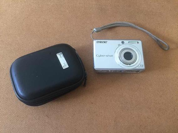 Camera Sony Digital Dsc-s730 Usado Leia Descrito Abaixo