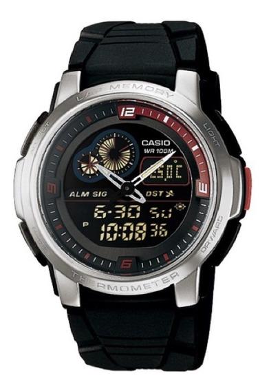 Relógio Masculino Casio Analogico/digital Aqf-102w-1bvdf