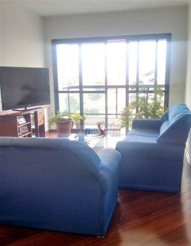 Apartamento Com 3 Dormitórios À Venda, 117 M² Por R$ 795.000,00 - Ipiranga - São Paulo/sp - Ap2571