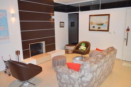 Casa Em Condominio Fechado A Venda No Village Club, Bairro Saco Grande Em Florianopolis. - V-71640