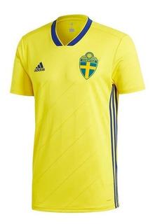 Jersey Original adidas Selección Suecia Local 2018-2019