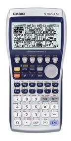 Calculadora Gráficadora Casio Fx-9860 Gii Sd