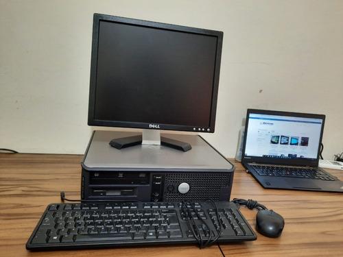 Imagem 1 de 4 de Computador Dell Gx620 Pentium D 3.0ghz 4gb Hd 80gb + Monitor