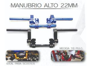 Manubrio De Posiciones Volante Alto 22mm Moxxi
