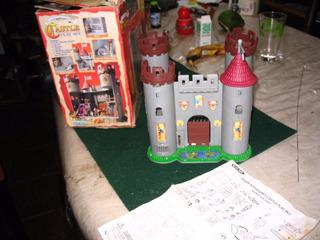 Castle Play Set Hidde Adventures Castillo Blue Box Sin Ac